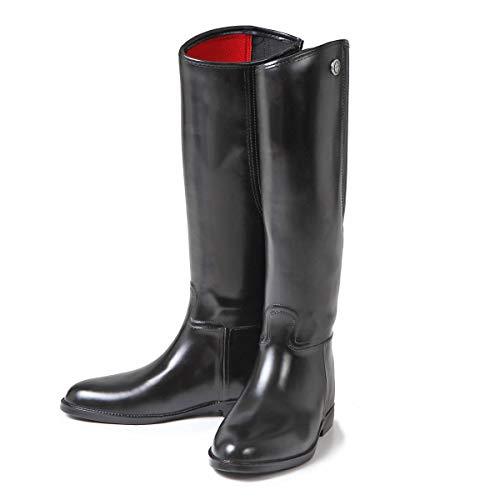 Kerbl Reitstiefel Flexo Gr.42 Schwarz, Kunststoff, Unisex-Erwachsene Reitsportschuhe, Schwarz (schwarz; 19-0303), 42 EU (8 Erwachsene UK)