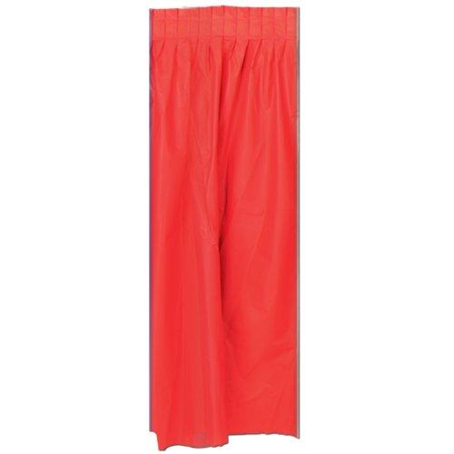 Jupe De Table Rouge
