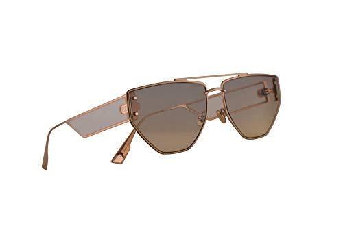 Christian Dior DiorClan2 Sonnenbrille Gold Kupfer Mit Grauen Gläsern 61 mm DDB1I Clan 2 Clan2