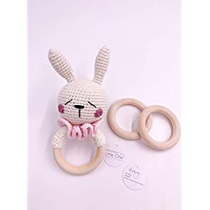 Little One Designer Greiflinge| Handmade Bio Neugeborenes Geschenk | Geschenk zur Geburt | Baby Party |Baby Shower…
