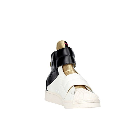 Serafini CAMP.6 Sneakers Damen Weiss/Gold