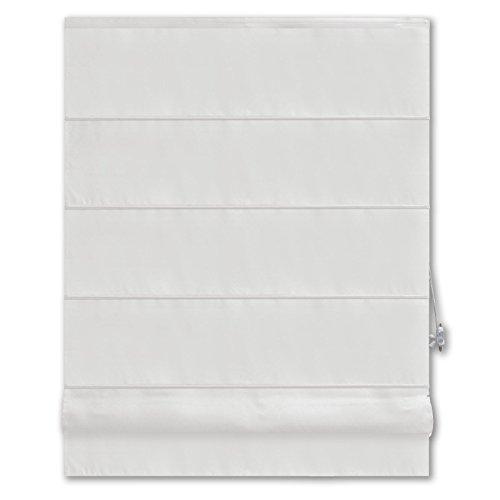 Unbekannt Raffrollo Pacific - Weiß - 100x160 cm