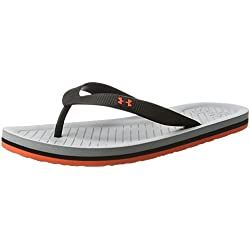 Under Armour Ua M Atlanticdune T, Zapatos de Playa y Piscina para Mujer, Naranja (Gray Wolf 036), 42.5 EU