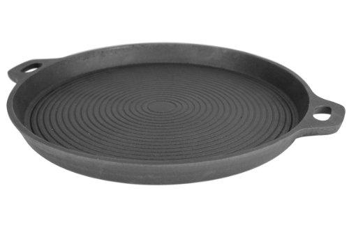 feuerpfanne Grillplanet 5340 Gusseisenpfanne Grillplatte für Grill