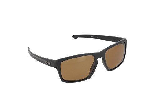 Oakley Sonnenbrille Sliver, Matte Black/Bronze Polarized, One size, OO9262-08 (Oakley-board)