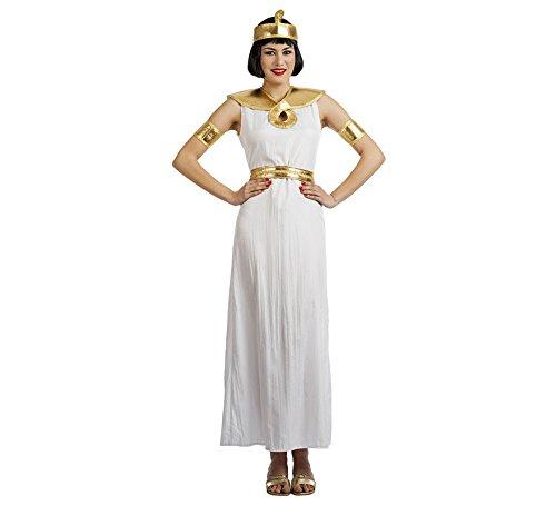 Imagen de disfraz de egipcia blanca para mujer