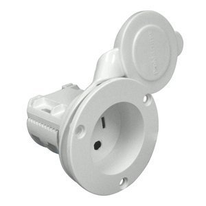 ProMariner AC Plug Holder - White by ProMariner Promariner Ac Plug Holder