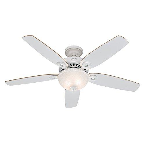 Hunter Fan 50570 Builder Deluxe Ventilatore da soffitto con luce,