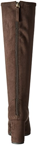Nine West Womens Kellan Fabric Winter Boot Dark Brown