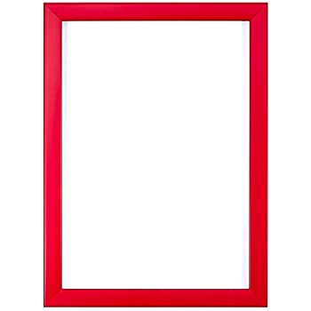 Red-A4 Rainbow Colour Range Picture/Photo/Poster frame with a High ...