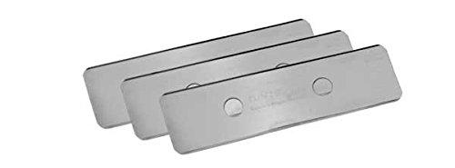 Tunze 0220.155 Lamette in Acciaio Inossidabile - 3 Pezzi