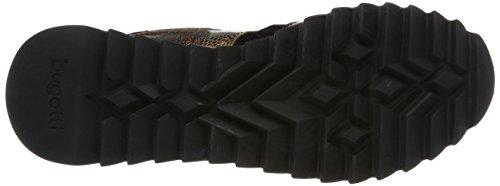 bugatti Damen 422276015069 Sneaker Braun (dark brown/brown)