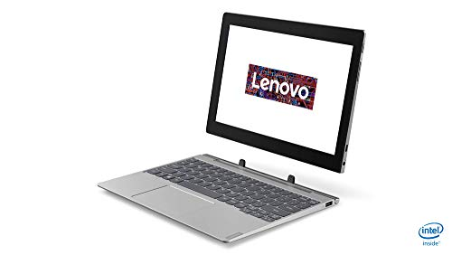 Lenovo IdeaPad D330 25,4 cm (10,1 Zoll Full HD IPS matt) 2-in-1 Tablet (Intel Pentium N5000, 4GB RAM, 128GB eMMC, Intel UHD Grafik 605, LTE, Windows 10 Home) grau