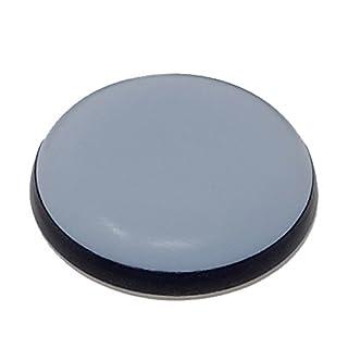 SBS Teflongleiter | ø 30mm | selbstklebend | 16 Stück | Möbelgleiter für z.B. Stühle, Kleiderschränke oder Betten