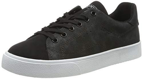 ESPRIT Damen Cherry LU Sneaker, Schwarz (Black 001), 40 EU