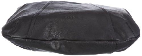 Bugatti Bags Elena Hobotasche,   49663901, Damen Umhängetaschen, Schwarz (schwarz 01), 45x32x3 cm (B x H x T) Schwarz (schwarz 01)