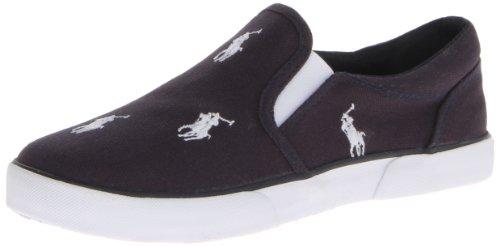 Polo Ralph Lauren Kids Bal Harbour RPT Sneaker (Toddler/Little Kid),Navy/White,10 M US Toddler