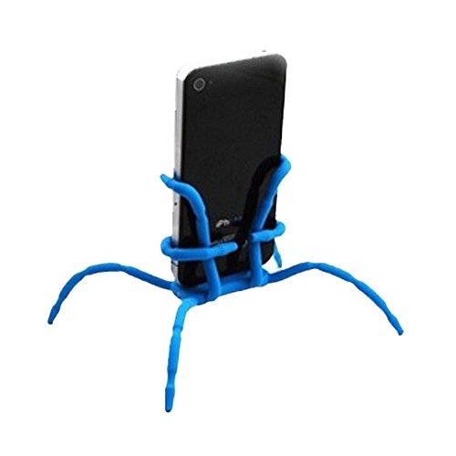 Cewaal Regalo Soporte de araña flexible Teléfono Soporte de coche Montaje colgante y soporte para iPhone Samsung Android en el plano de escritorio del coche