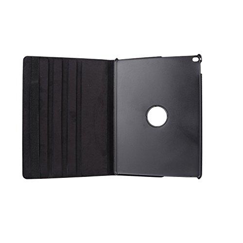 inShang ipad Pro 12.9 inch Hülle Cover für iPad Pro 12.9 inch (2015) , PU Leder Schutzhülle St?nder Smart Cover mit Super Automatische Einschlaf-/Aufwach funktion, case 360 Grad rotierende Schutzhülle Grape black