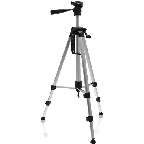 igadgitz-140cm-55-silver-3-section-extendable-aluminium-portable-tripod-for-nikon-bridge-1-v1-coolpi
