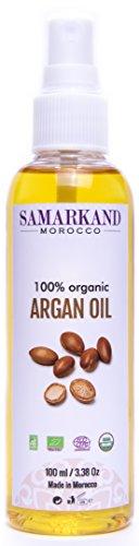 100 ml Aceite de Argán Bio 100% Puro concertificado Ecológico Ecocertprimera Presión en Fríopara Pelo y Piel - El Original de Marruecos