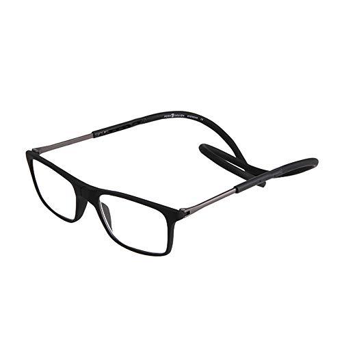 06ebd5e250 GEMSeven Gafas De Lectura Magnética Con Cuello De Silicona, Hombres De Las  Mujeres Colgantes Plegables
