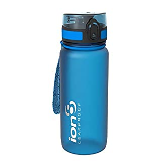 Ion8 Leak-proof Cycling Water Bottle / Water Bottle, BPA-Free, Blue (Frosty Blue), 750ml / 24oz