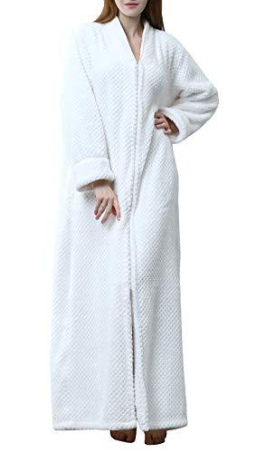 Mujer Toalla Bata baño Snuggle Polar Maternidad camisón