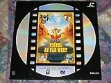 laserdisc LD disque laser 30 cm rare FIEVEL AU FAR WEST ! version française !