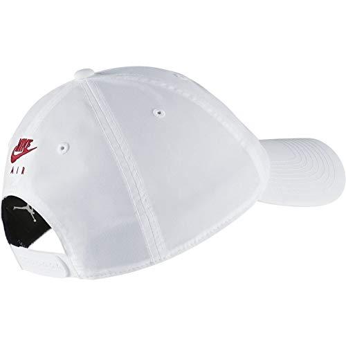 Imagen de nike jordan h86 legacy flight hat, unisex adulto, white/black, misc alternativa