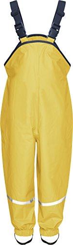 Playshoes Pantaloni Impermeabili Bimbi Giallo ) 104