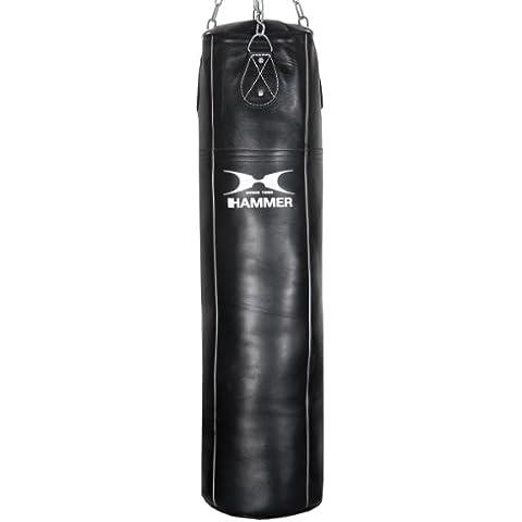 Hammer Boxsack Premium Rindsleder Professional - Saco pesados de boxeo ( cuero ), color negro, talla 100