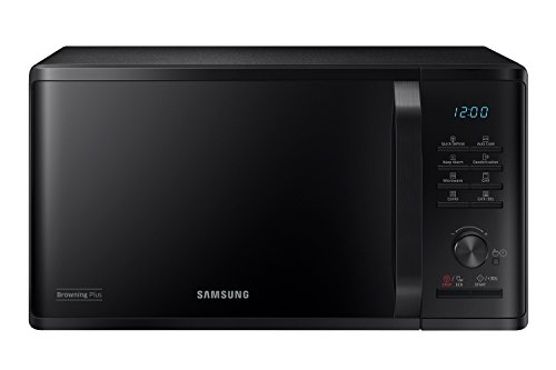 Samsung PED MG23K3515CK Forno a Microonde, 800 W, Grill 1100 W, Rapido Defrost, 23 Litri, Nero