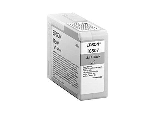 Preisvergleich Produktbild Epson original - Epson SureColor SC-P 800 SP (T8507 / C13T850700) - Tintenpatrone schwarz hell - 80ml