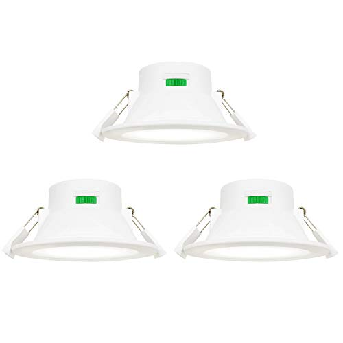 Lamparas Plafones Focos Empotrables de Downlight LED de Techo Regulables 10W Luz...