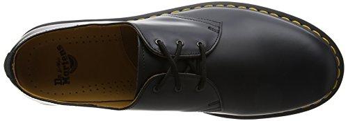 Dr. Martens 1461 Pw, Chaussures de ville mixte adulte Noir (Black)