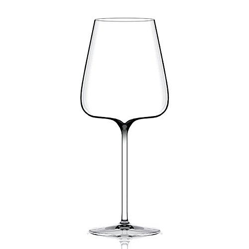 Italesse Etoilé Noir Excellence, Verre à pied pour vin rouge cc. 760 transparent