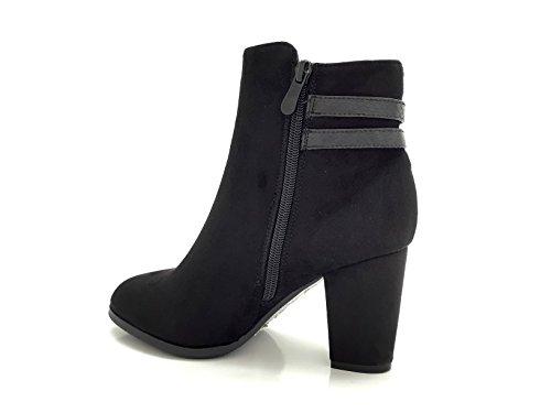 CHIC NANA ,  Damen Chelsea Boots Schwarz