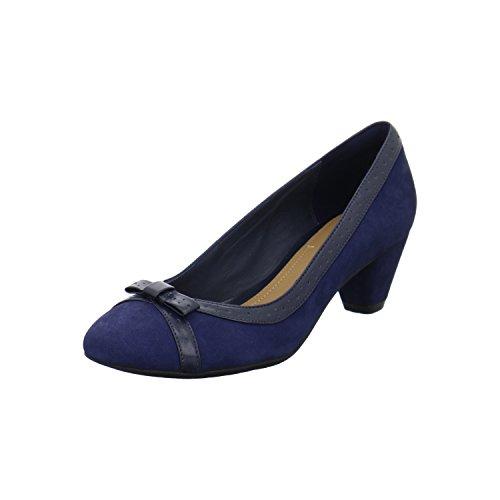 clarks-denny-dream-damen-pumps-grosse-40-blau-blau
