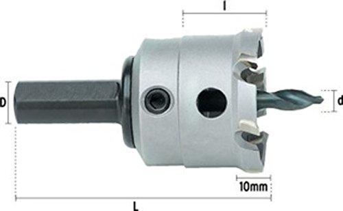 Hepyc 71010000280 Couronne métal pour scies et couronnes Ø 28 mm l 67,5 (TCT) mm l 22 mm