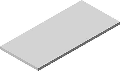 Element System PREMIUM Holz-Regalboden 22 mm, verschiedene Längen, Weiß, Tabak
