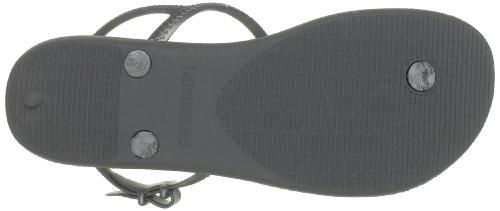 Havaianas Freedom, sandales Femme gris/argenté
