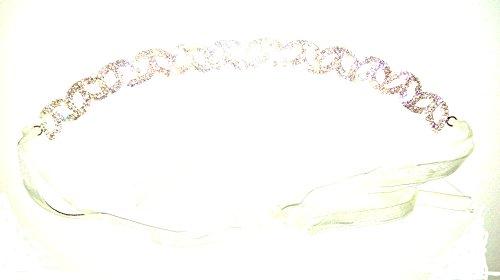 Braut Haarband Rosegold Perlen Braut Haardraht Perlen Kristall Hochzeit Haardraht Perlen Kopfschmuck Vintage Kristall Perlen Haardraht Braut Haarschmuck Perlen Braut Haarkranz Perlen Brautschmuck