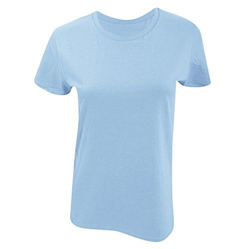 Gildan - T-shirt en coton - Femme Bleu roi
