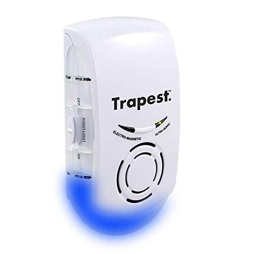 ASPECTEK Repelente Ultrasónico de Plagas, Repelente Ultrasónico Ratones y Ultrasonidos Ahuyentador de Insectos- Control de Plagas, Ratas, Moscas, Arañas, Hormigas