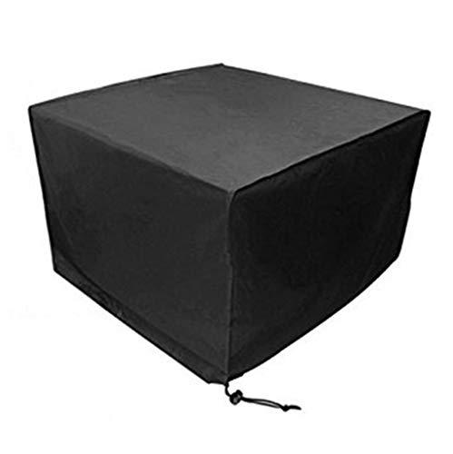 LH-Tarps Möbelbezug Schutzhülle Wasserdichte Outdoor Sofa Abdeckung Markise Balkon (Farbe : SCHWARZ, größe : 250×250×90cm)
