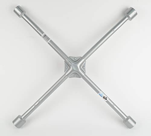 Brüder Mannesmann  Kreuzschlüssel f. Lkw, 24x27x30x32 mm, M  162-2