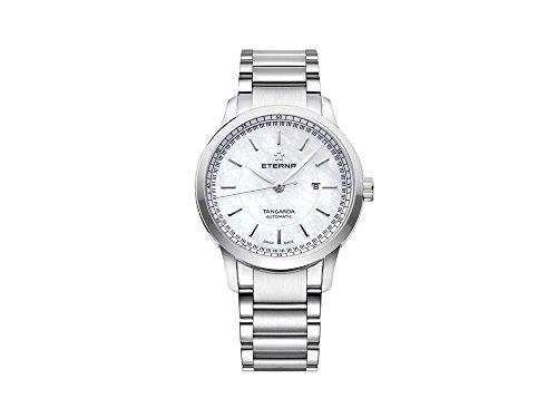 Eterna Tangaroa Lady Automatic Watch, ETA 2671, 32mm, Steel Bracelet