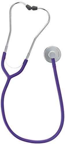 erka Stetoscopio, erkaphon Alu con tubo (diversi colori), viola, 1