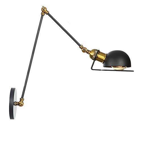 Lámpara de Brazo Ajustable Lámpara de Pared Extensible Retro Pasillo Corredor Lámpara...